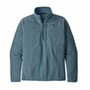 Patagonia Mens Better Sweater 1/4 Zip Pigeon Blue