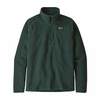 Patagonia Mens Better Sweater 1/4 Zip Piki Green (close out)