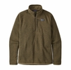 Patagonia Mens Better Sweater 1/4 Zip Sage Khaki (Close Out)