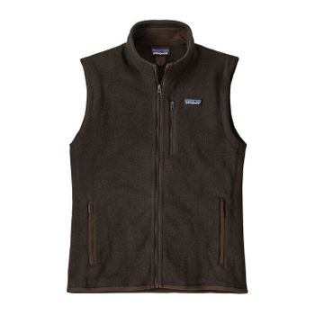 Patagonia Mens Better Sweater Fleece Vest Logwood Brown (Close Out)