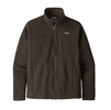 Patagonia Mens Better Sweater Jacket Logwood Brown