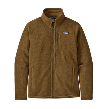 Patagonia Mens Better Sweater Jacket Mulch Brown
