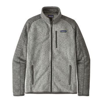 Patagonia Mens Better Sweater Jacket Nickel w/ Forge Grey (Close Out)