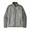 Patagonia Mens Better Sweater Jacket Nickel w/ Forge Grey