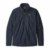 Patagonia Mens Better Sweater Rib Knit 1/4 Zip New Navy Rib Knit