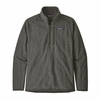 Patagonia Mens Better Sweater Rib Knit 1/4 Zip Nickel Rib Knit