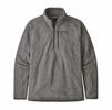 Patagonia Mens Better Sweater Rib Knit 1/4 Zip Stonewash Rib Knit