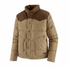 Patagonia Mens Bivy Down Jacket Classic Tan