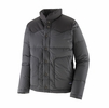 Patagonia Mens Bivy Down Jacket Forge Grey