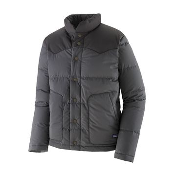 Patagonia Mens Bivy Down Jacket Forge Grey (Close Out)