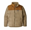 Patagonia Mens Bivy Down Jacket Mojave Khaki (close out)