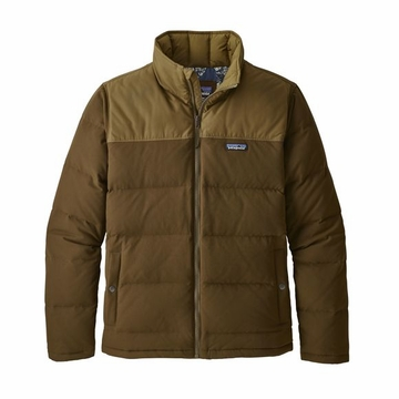 Patagonia Mens Bivy Down Jacket Sediment