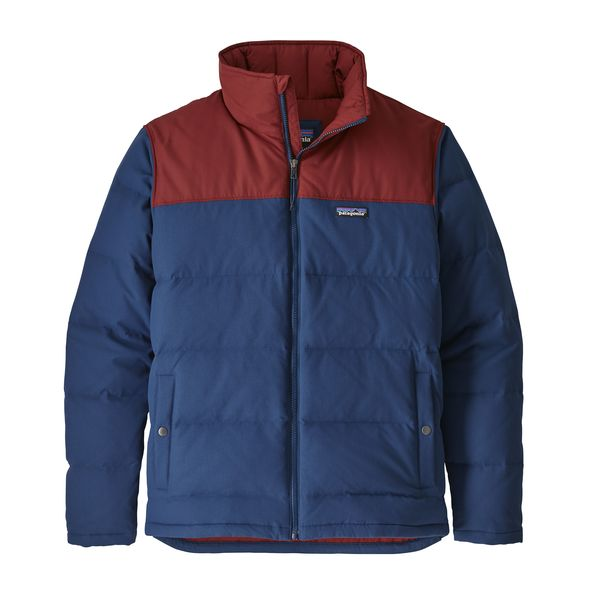 Patagonia Mens Bivy Down Jacket Stone Blue Close Out