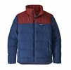 Patagonia Mens Bivy Down Jacket Stone Blue