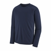 Patagonia Mens Capilene Midweight Crew Classic Navy (Close Out)