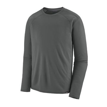 Patagonia Mens Capilene Midweight Crew Forge Grey