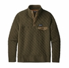 Patagonia Mens Cotton Quilt Snap-T Pullover Sediment