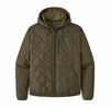 Patagonia Mens Diamond Quilted Bomber Hoody Basin Green