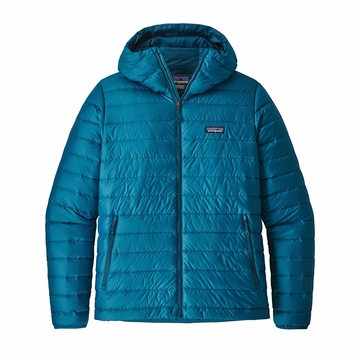 Patagonia Mens Down Sweater Hoody Balkan Blue