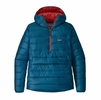 Patagonia Mens Down Sweater Hoody Pullover Big Sur Blue (close out)