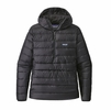 Patagonia Mens Down Sweater Hoody Pullover Black  (close out)