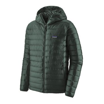 Patagonia Mens Down Sweater Hoody Carbon (Close Out)