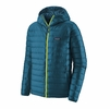 Patagonia Mens Down Sweater Hoody Crater Blue (close out)