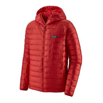 Patagonia Mens Down Sweater Hoody Fire w/ Fire