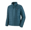 Patagonia Mens Down Sweater Jacket Abalone Blue