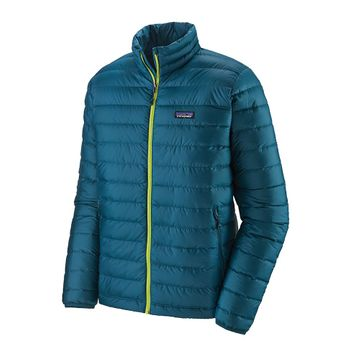 Patagonia Mens Down Sweater Jacket Crater Blue
