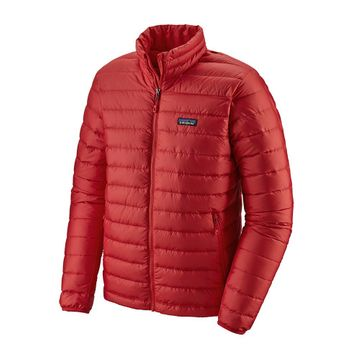 Patagonia Mens Down Sweater Jacket Fire w/ Fire