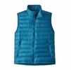 Patagonia Mens Down Sweater Vest Balkan Blue (Close Out)