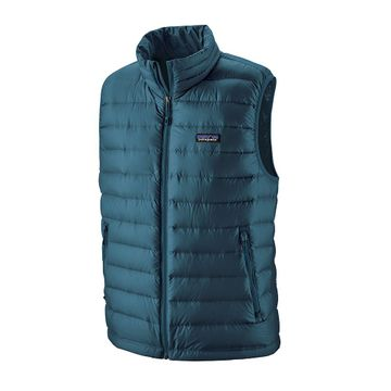 Patagonia Mens Down Sweater Vest Crater Blue