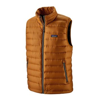 Patagonia Mens Down Sweater Vest Hammonds Gold (Close Out)