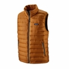 Patagonia Mens Down Sweater Vest Hammonds Gold