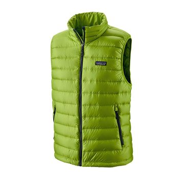 Patagonia Mens Down Sweater Vest Peppergrass Green (Close Out)