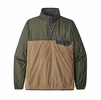 Patagonia Mens Houdini Snap-T Pullover Classic Tan (Close Out)