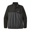 Patagonia Mens Houdini Snap-T Pullover Forge Grey