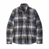 Patagonia Mens Lightweight Fjord Flannel Shirt Buttes: New Navy (Close Out)