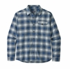 Patagonia Mens Lightweight Fjord Flannel Shirt Grange: Superior Blue