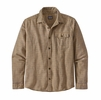 Patagonia Mens Lightweight Fjord Flannel Shirt Santa Paula: Mountain Yellow (close out)