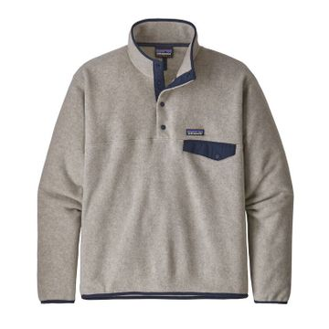 Patagonia Mens Lightweight Synchilla Snap-T Fleece Pullover Oatmeal
