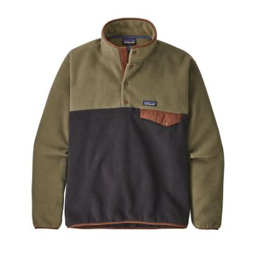 Patagonia Mens Lightweight Synch Snap-T Pullover Sage Khaki