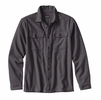 Patagonia Mens Long-Sleeved Fjord Flannel Shirt Forge Grey (Close Out)