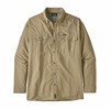 Patagonia Mens Long-Sleeved Sol Patrol II Shirt El Cap Kahki