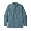 Patagonia Mens Long-Sleeved Sol Patrol II Shirt Pigeon Blue (close out)