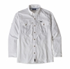 Patagonia Mens Long-Sleeved Sol Patrol II Shirt White