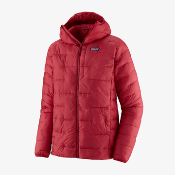 Patagonia Mens Macro Puff Hoody Classic Red (close out)