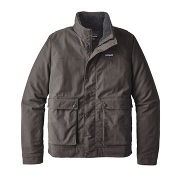 Patagonia Mens Maple Grove Canvas Jacket Forge Grey