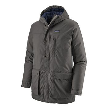 Patagonia Mens Maple Grove Down Parka Forge Grey (Close Out)